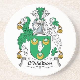 Escudo de la familia de O'Meldon Posavasos Personalizados