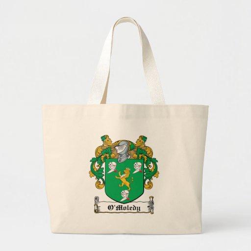 Escudo de la familia de O'Moledy Bolsa De Mano