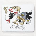 Escudo de la familia de O'Molloy Alfombrillas De Ratones
