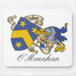 Escudo de la familia de O'Monahan Alfombrilla De Raton