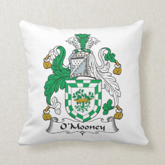 Escudo de la familia de O'Mooney Almohadas