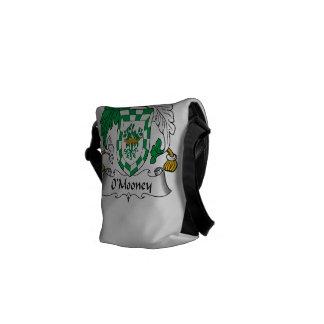 Escudo de la familia de O'Mooney Bolsa Messenger