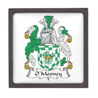 Escudo de la familia de O'Mooney Cajas De Regalo De Calidad