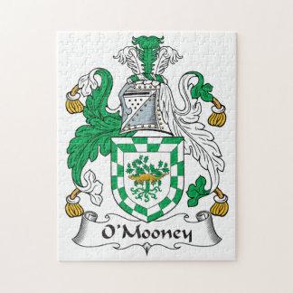Escudo de la familia de O'Mooney Puzzle Con Fotos