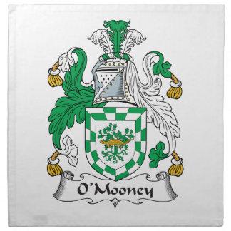 Escudo de la familia de O'Mooney Servilletas De Papel