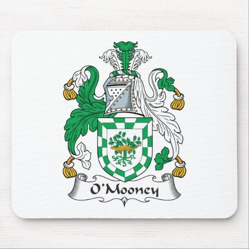 Escudo de la familia de O'Mooney Tapetes De Ratones