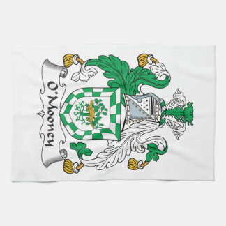 Escudo de la familia de O'Mooney Toallas De Mano