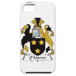 Escudo de la familia de O'Moran iPhone 5 Case-Mate Carcasas