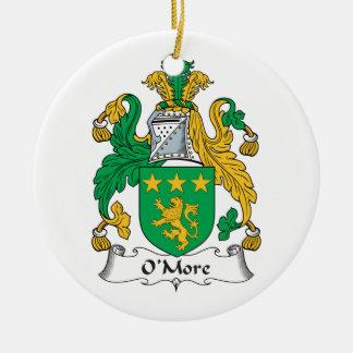 Escudo de la familia de O'More Ornamentos Para Reyes Magos