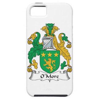 Escudo de la familia de O'More iPhone 5 Case-Mate Cárcasa