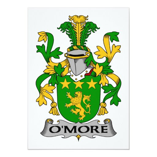 Escudo de la familia de O'More Anuncios Personalizados