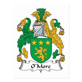 Escudo de la familia de O'More Postal