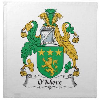 Escudo de la familia de O'More Servilletas
