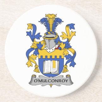 Escudo de la familia de O'Mulconroy Posavasos Diseño