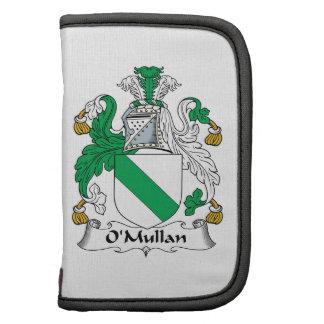 Escudo de la familia de O'Mullan Planificador