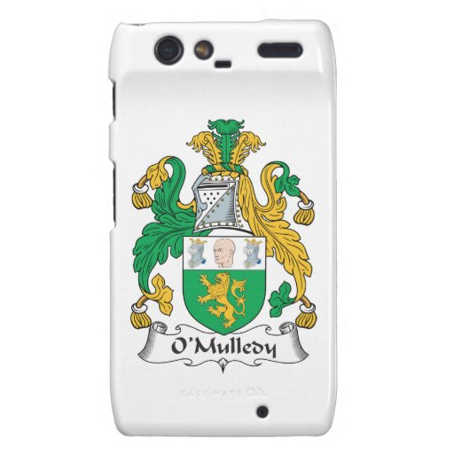 Escudo de la familia de O'Mulledy Motorola Droid RAZR Funda