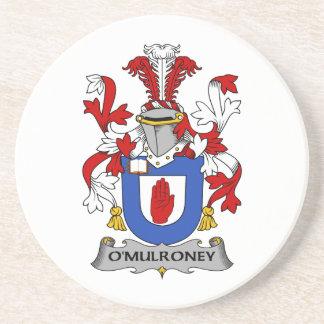 Escudo de la familia de O'Mulroney Posavasos Para Bebidas