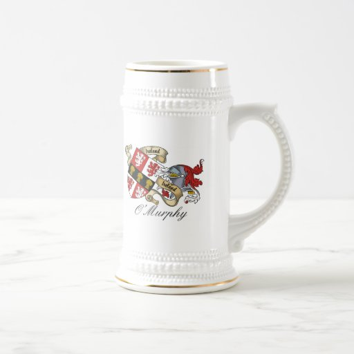 Escudo de la familia de O'Murphy Taza De Café