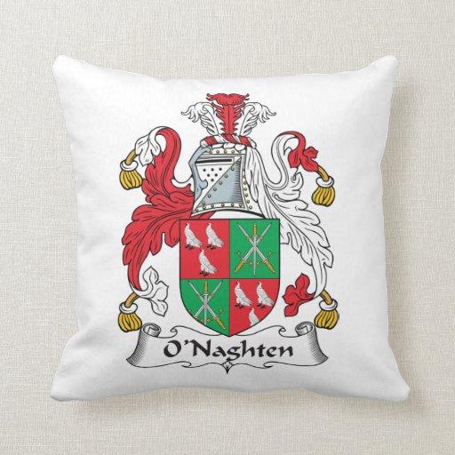 Escudo de la familia de O'Naghten Cojines
