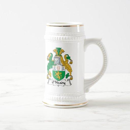 Escudo de la familia de O'Neady Jarra De Cerveza
