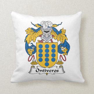 Escudo de la familia de Ontiveros Cojin