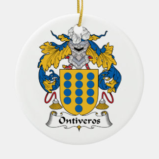 Escudo de la familia de Ontiveros Ornato