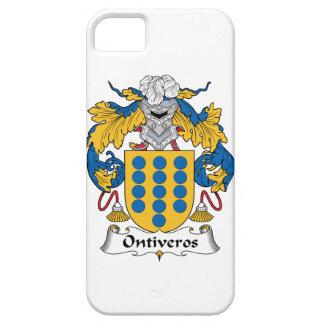 Escudo de la familia de Ontiveros iPhone 5 Protectores