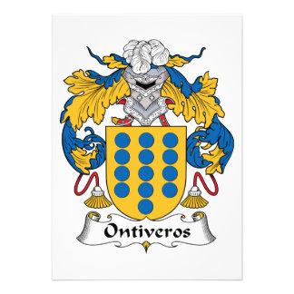 Escudo de la familia de Ontiveros Comunicados