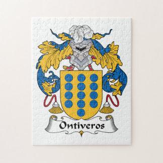 Escudo de la familia de Ontiveros Puzzles Con Fotos