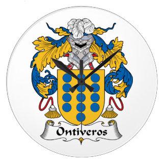 Escudo de la familia de Ontiveros Reloj