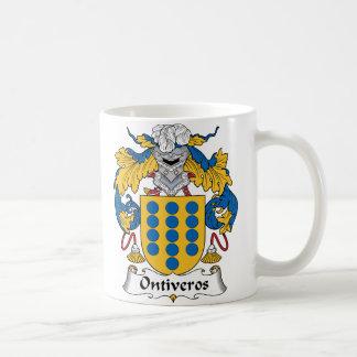 Escudo de la familia de Ontiveros Taza De Café