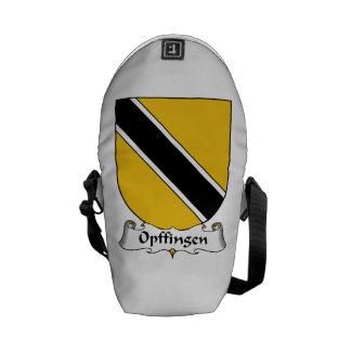 Escudo de la familia de Opffingen Bolsa Messenger