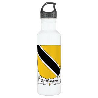 Escudo de la familia de Opffingen Botella De Agua