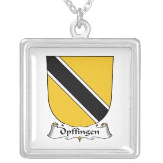Escudo de la familia de Opffingen Collares Personalizados