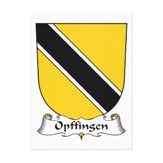 Escudo de la familia de Opffingen Impresiones De Lienzo