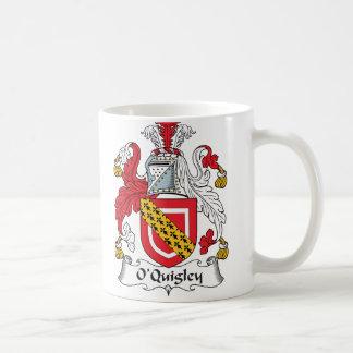 Escudo de la familia de O'Quigley Taza De Café