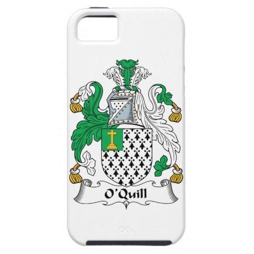 Escudo de la familia de O'Quill iPhone 5 Case-Mate Coberturas