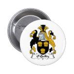 Escudo de la familia de O'Quilty Pins