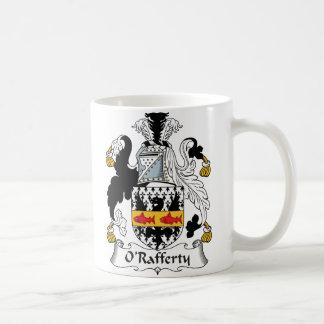Escudo de la familia de O'Rafferty Tazas