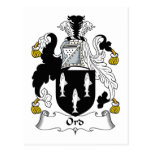 Escudo de la familia de Ord Postal
