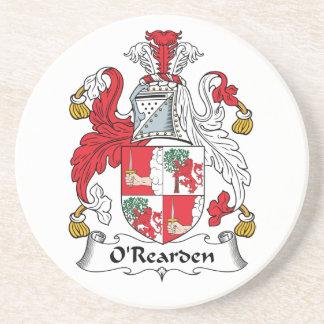 Escudo de la familia de O'Rearden Posavaso Para Bebida