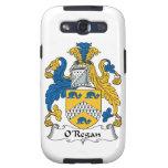 Escudo de la familia de O'Regan Samsung Galaxy S3 Fundas