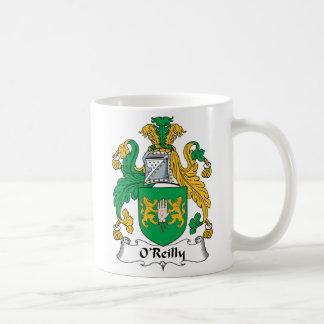 Escudo de la familia de O'Reilly Tazas