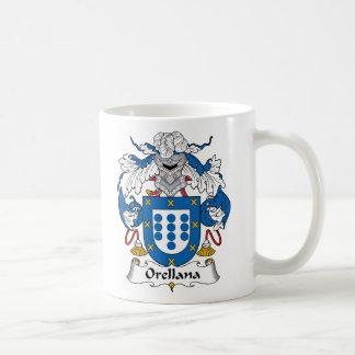 Escudo de la familia de Orellana Tazas De Café