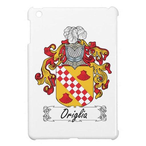 Escudo de la familia de Origlia iPad Mini Cárcasas
