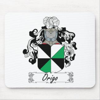 Escudo de la familia de Origo Alfombrillas De Ratones
