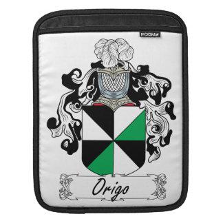 Escudo de la familia de Origo Funda Para iPads