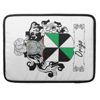 Escudo de la familia de Origo Fundas Para Macbook Pro