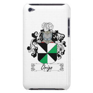 Escudo de la familia de Origo iPod Case-Mate Protectores