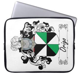 Escudo de la familia de Origo Mangas Computadora